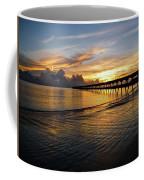 Sunrise Fort Clinch Pier Coffee Mug