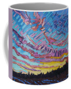 Sunrise Freezing Rain Deformation Zone Coffee Mug by Phil Chadwick