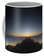 Sunrise From 30k 3 Coffee Mug