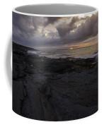 Sunrise From Beavertail In Jamestown Rhode Island Coffee Mug