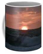Sunrise From The Waves Coffee Mug