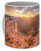 Sunrise In Canyonlands Coffee Mug
