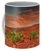 Sunrise In Capitol Reef National Park Utah Coffee Mug