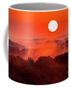 Sunrise In Hocking State Forest Coffee Mug