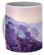 Sunrise In Oia Coffee Mug