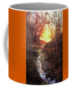 Sunrise In The Forest Coffee Mug