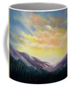Sunrise In The Mountains Coffee Mug