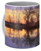 Sunrise Lake Reflections Coffee Mug