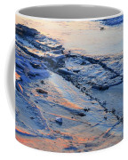 Sunrise Light On The Ice  Coffee Mug