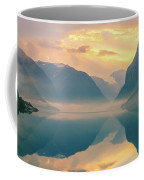 Sunrise Lovatnet, Norway Coffee Mug