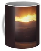 Sunrise Of  Mount Nebo In  Jordan Coffee Mug