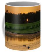 Sunrise On A Gettysburg Duck Pond Coffee Mug