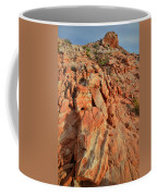 Sunrise On Colorful Sandstone In Valley Of Fire Coffee Mug