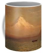 Sunrise On Mount Tacoma  Coffee Mug by Albert Bierstadt