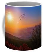 Sunrise On The Blue Ridge  Coffee Mug