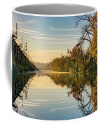 Sunrise On The Canal Coffee Mug
