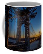 Sunrise On The Gwb, Nyc - Landscape Coffee Mug