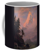 Sunrise On The Matterhorn         Coffee Mug