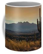 Sunrise On The Peaks Coffee Mug