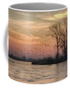 Sunrise On The Platte Coffee Mug