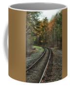 Sunrise On The Rails Coffee Mug