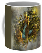 Sunrise On The Tree Pixies Coffee Mug
