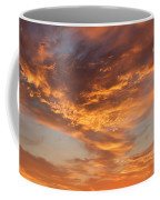 Sunrise Orange Sky, Willamette National Forest, Oregon Coffee Mug