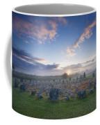 Sunrise Over Beaghmore Stone Circles Coffee Mug