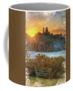 Sunrise Over Corfe Coffee Mug
