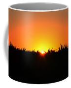 Sunrise Over Corn Field Coffee Mug