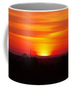 Sunrise Over Hanford  Coffee Mug