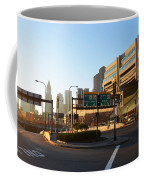 Sunrise Over Haymarket Station In Boston Coffee Mug