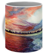 Sunrise Over Indian Lake Coffee Mug
