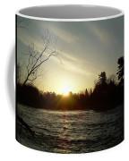 Sunrise Over Mississippi River Coffee Mug