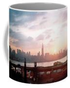 Sunrise Over Nyc Coffee Mug