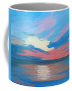 Sunrise Over Ocean City Maryland Coffee Mug
