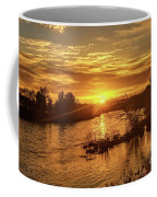 Sunrise Over  Payette River Coffee Mug