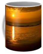 Sunrise Over The Ocean Coffee Mug