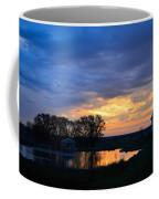 Sunrise Over The Pond Coffee Mug