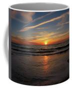 Sunrise Over The Waves Coffee Mug