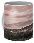 Sunrise Pink Over Tlacolula Valley Coffee Mug