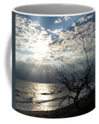 Sunrise Prayer On The Beach Coffee Mug