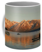 Sunrise Reflections On Colter Bay Coffee Mug