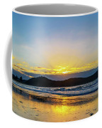 Sunrise Seascape And Crepuscular Rays Coffee Mug