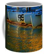 Sunrise / Sunset / Sailboats Coffee Mug