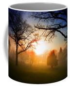 Sunrise Through Trees Coffee Mug