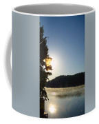 Sunrise Thru The Feeder Coffee Mug