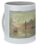 Sunrise To Painting By Frederick C. Sorensen, Anonymous, After Carl Frederik Sorensen, 1868 - 1876 Coffee Mug