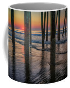 Sunrise Under The Pier Coffee Mug