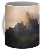 Sunrise View Of Bora Bora Island Coffee Mug